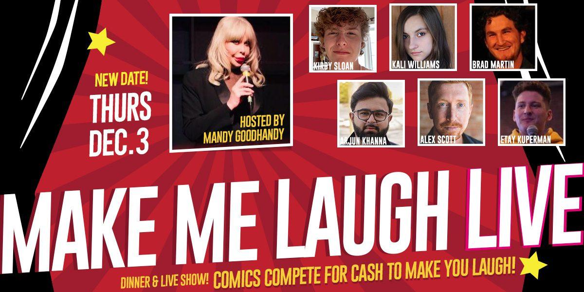 Make Me Laugh at The Medley